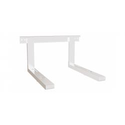 Soporte ajustable para microondas blanco 35kg max. Mod. SMO-200