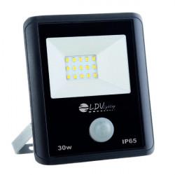 Proyector Led 30W con sensor 6000K IP65. Mod. 563001SCW