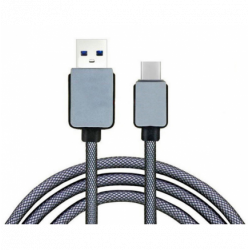 Conexión USB 3.1 Tipo C a USB 3.0 1m resistente. Mod. 51542