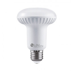 LAMPARA REFLECTORA LED R80 12W E27 1065LM 100º 6000K. Mod. 802712CW