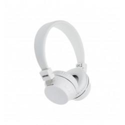 Auricular diadema Bluetooth blanco Denver. Mod. BTH-205WH