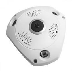 Cámara de vigilancia ojo de pez 360º WIFI. Mod. 61.156