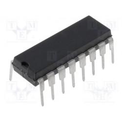Circuito integrado digital divisor contador de décadas CMOS THT DIP16. Mod. CD4033