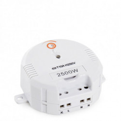 Relé interruptor inalámbrico 2500W. Mod. ECECR100