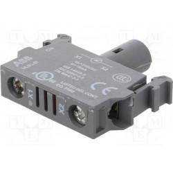 Elemento iluminador 22m LED contacto ABB. Mod. MLBL-07W
