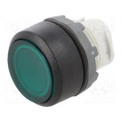 Pulsador 1 posición 22mm verde MLB-1 ABB. Mod. MP1-11G