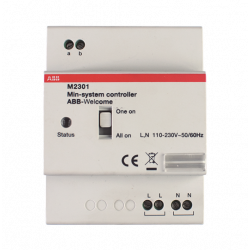Sistema de control mini ABB Welcome M. Mod. M2301