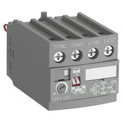 Temporizador electrónico ABB Retardo ON NA/NC Gama AF. Mod. TEF4-ON