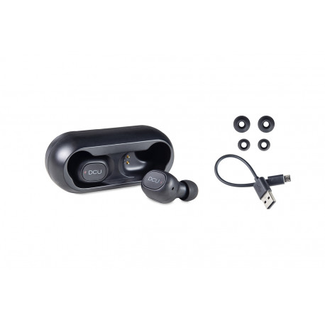 Mini auriculares Bluetooth v5.0 estéreo IPX4 DCU. Mod. 34152000