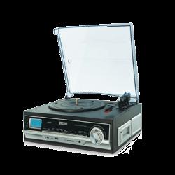 Tocadiscos con cassette MP3 USB Daewoo. Mod. DTR-400