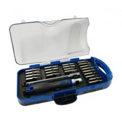 Kit de destornilladores de precisión 22 puntas. Mod. 46.719/KIT/N