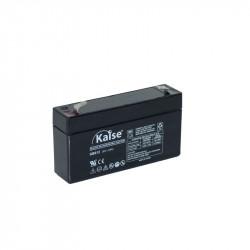 Batería plomo 6V 1,2Ah AGM KAISE. Mod. KB612