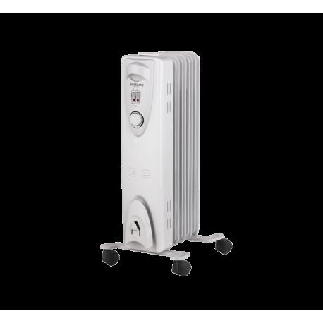 Radiador fluido térmico 1000W 5 elem Bastilipo. Mod. RAC5-1000