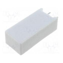 Resistencia de cemento THT vertical 100Ω 10W ±5%. Mod. AX10WV-100R