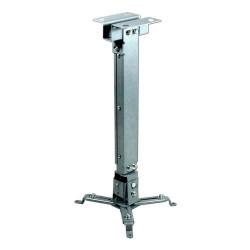 Soporte techo video proyector extensible 13 a 65 cm. Mod. PJ2012T-S
