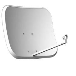 Antena parabólica panorámica 60x46 cm + LNB. Mod. EPNR60M10U