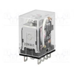 Relé electromagnético DPDT 240VCA 10A Omron. Mod. LY2 220/240VAC