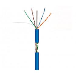 Cable para datos UTP Cat.6 COBRE rígido interior LSZH,305M. Mod. WIR9063