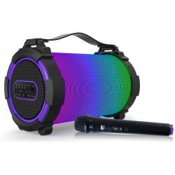 Altavoz Bluetooth con batería y micrófono inalambrico 30W Fonestar. Mod. TRIUMPH