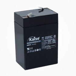 Batería plomo 6V 4,5Ah AGM KAISE. Mod. KB645