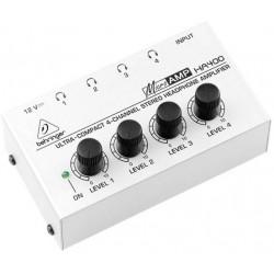 Amplificador de auriculares 4 canales Behringer. Mod. HA400