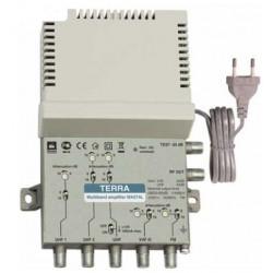 Amplificador multibanda 44dB 5 entradas FM/VHFIII/UHF/UHF1/UHF2 LT TERRA. Mod. MA074L