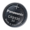 Pila botón litio 3V Panasonic. Mod. CR2330TM