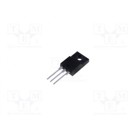 Transistor N-MOSFET unipolar 500V 10,8A 38,5W TO220FP. Mod. FDPF18N50