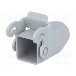 Carcasa conectores HDC CK/MK 21.21 recto. Mod. CK03VGS