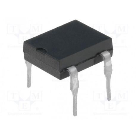 Puente rectificador unifase 600V 1A Ifsm: 50A DFM. Mod. DF06M