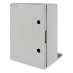 Armario superficie poliester 400x300x165 c/ placa IP65. Mod. 39134
