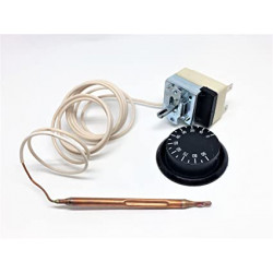 Termostato calderín 0 a 90ºC 16A 230V. Mod. 000143