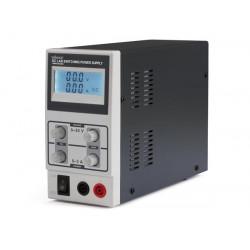Fuente alimentación laboratorio 0-30 VDC y 0-3 A. Mod. LABPS3003SM