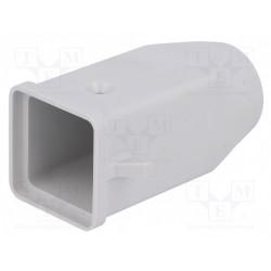 Carcasa conectores HDC CK/MK 21.21 recto. Mod. CK03VS