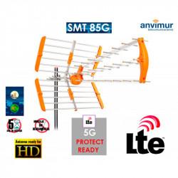 Antena TDT HD 18dBi con Filtro LTE700. Mod. SMT85G