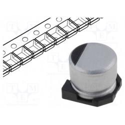 Condensador electrolítico SMD 47uF 35VCC. Mod. CE4735SMD