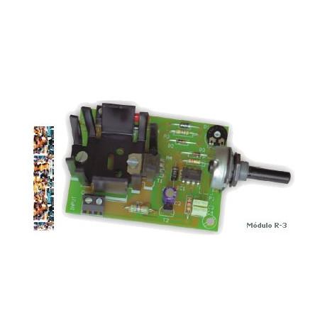 Regulador de velocidad motor CC 3A Cebek. Mod. R-3