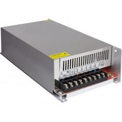 Fuente de alimentación 24VDC 500W 20,8A. Mod. ALM335
