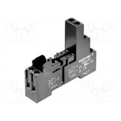 Columna de señalización LED 24VDC/AC rojo/verde Ø 40mm. Mod. HBJD-40/D/2/RG/24AC/DC/B