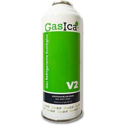 Gas refrigerante orgánico GASICA sustituto R22, R407c EFICAZ R410a