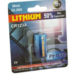 Pila de litio CR123A 3 V Electro Dh 52.260