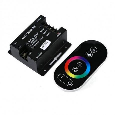 Controlador LED táctil RGB 216-432W 12V-24V. Mod. LM9026