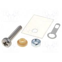Conjuntos aislantes para transistores TO220. Mod. TO220-SET