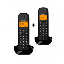 Teléfono inalámbrico dúo negro Alcatel. Mod. C350