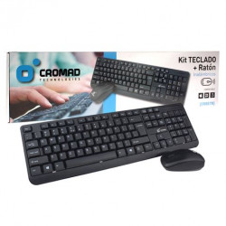 Kit Teclado + Ratón Inalámbricos CROMAD. Mod. CR0678