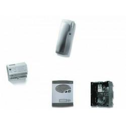 Kit portero 1 pulsador 4+N sin abrepuerta ALCAD. Mod. KAS-41021
