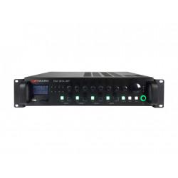 Amplificador 120W @ 4 Ohm. L100V. USB, SD/MMC, FM, BT. Mod. PM 1204 BT