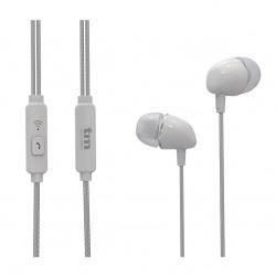 Auricular estéreo manos libres blanco. Mod. TMHE272W