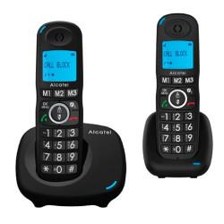 Teléfonos inalámbricos DUO con teclas grandes Alcatel. Mod. XL 535 DUO