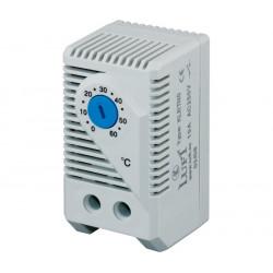Termostato regulable 0 - 60º NA carril Din LUFT. Mod. KLRTNO